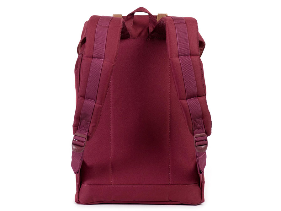 Herschel Retreat Rugzak met 15 inch Laptopvak (Wine/Tan)