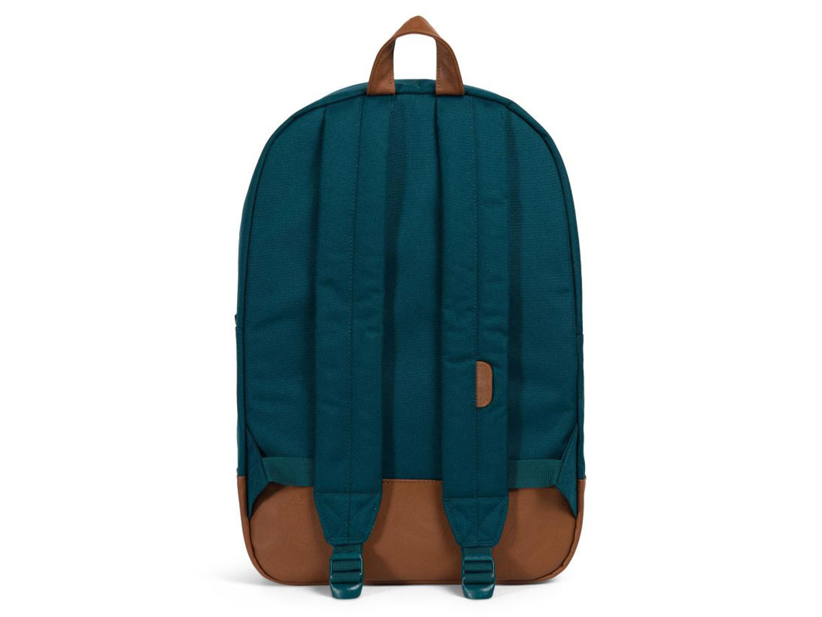 Herschel Supply Co. Heritage Rugzak - Deep Teal/Tan