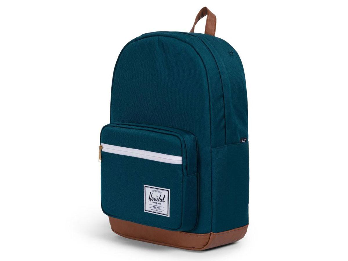 Herschel Supply Co. Pop Quiz Rugzak - Deep Teal/Tan Turquoise