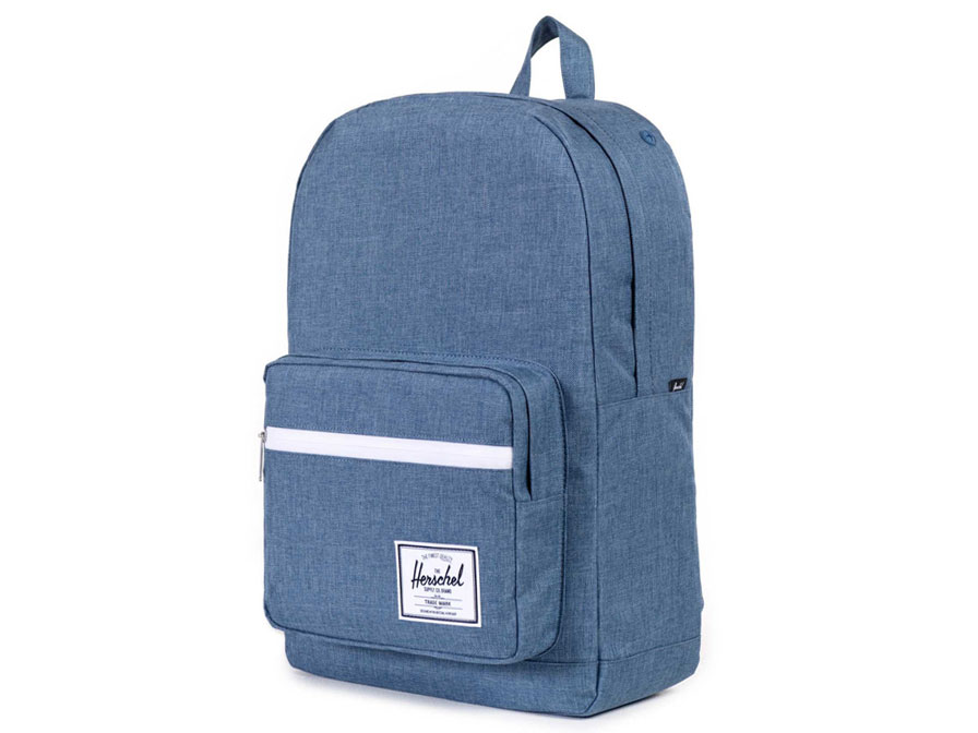 Herschel Pop Quiz BackPack Rugzak met 15 inch Laptopvak (Navy cross)