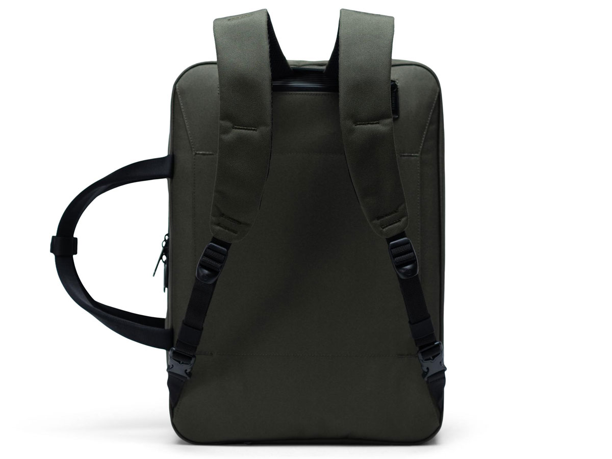 Herschel Supply Co. Gibson Large Messenger Rugzak - Dark Olive
