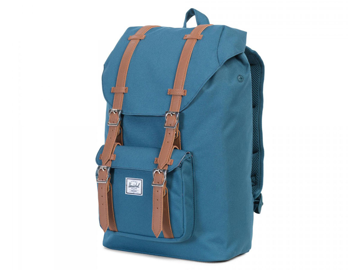 9304614514d Herschel Supply Co. Retreat Rugzak - Indian Teal (Mid Volume) ...