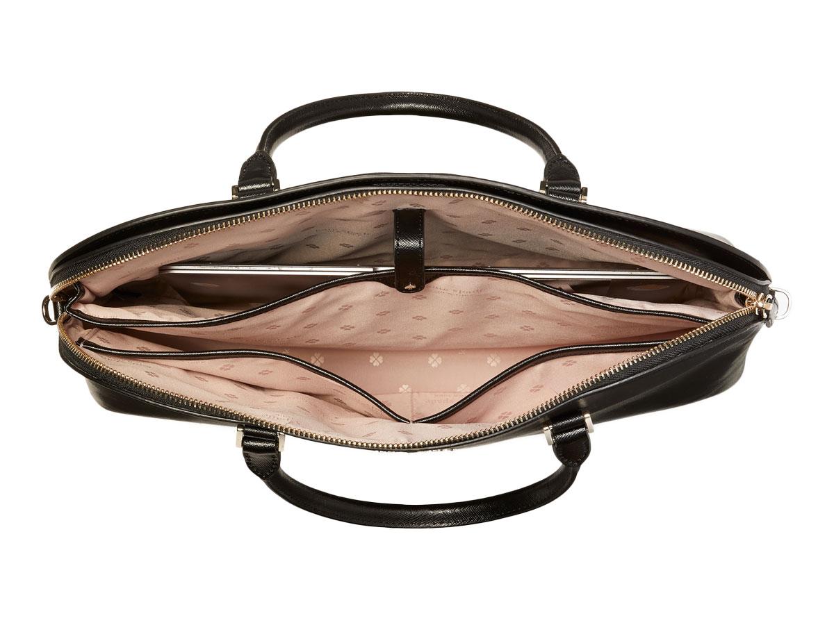 Kate Spade Spencer Dome Laptop Bag Zwart - Laptoptas tot 16 inch