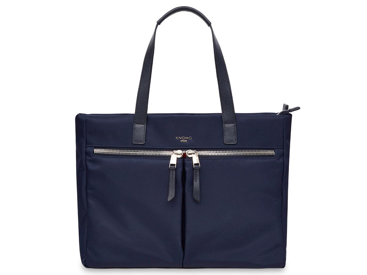 Knomo Blenheim Universal Tote Navy - Dames Laptoptas 14 inch Donkerblauw