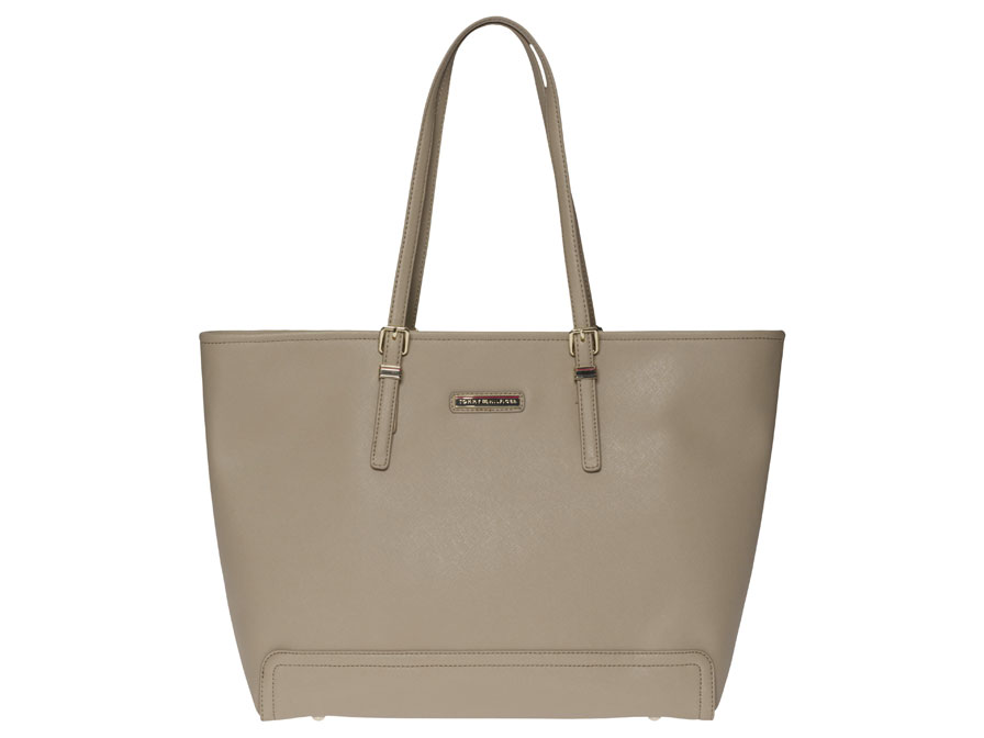 Tommy Hilfiger Honey Tote - Laptoptas 15 inch (Beige)