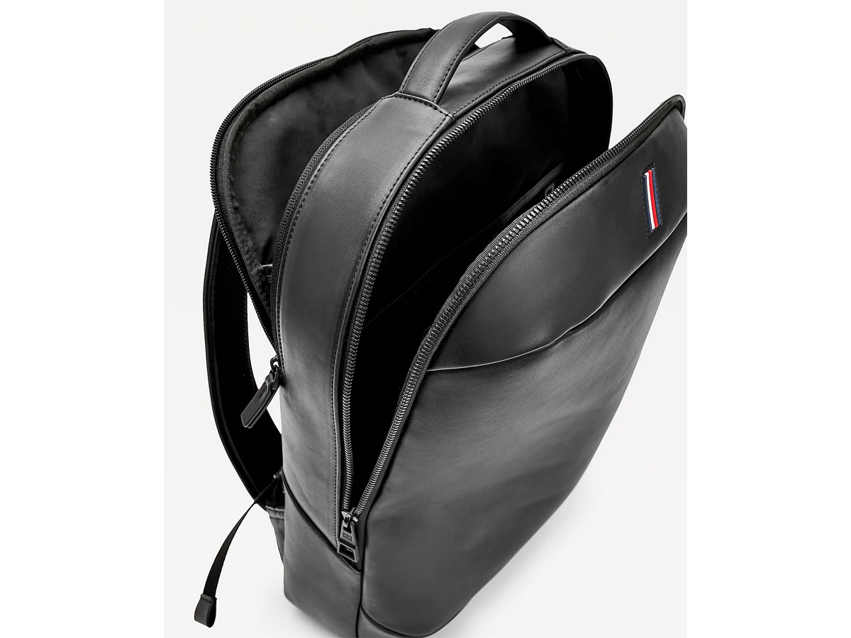 Tommy Hilfiger Metro Backpack Zwart - Laptop Rugzak