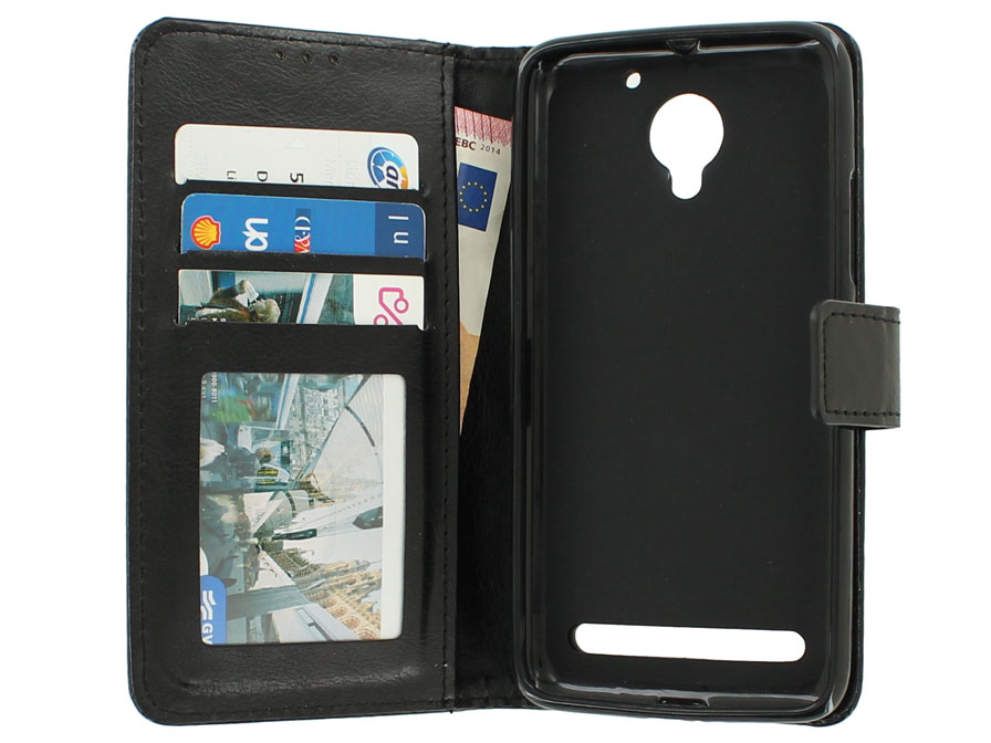 Wallet Bookcase - Lenovo C2 Power hoesje