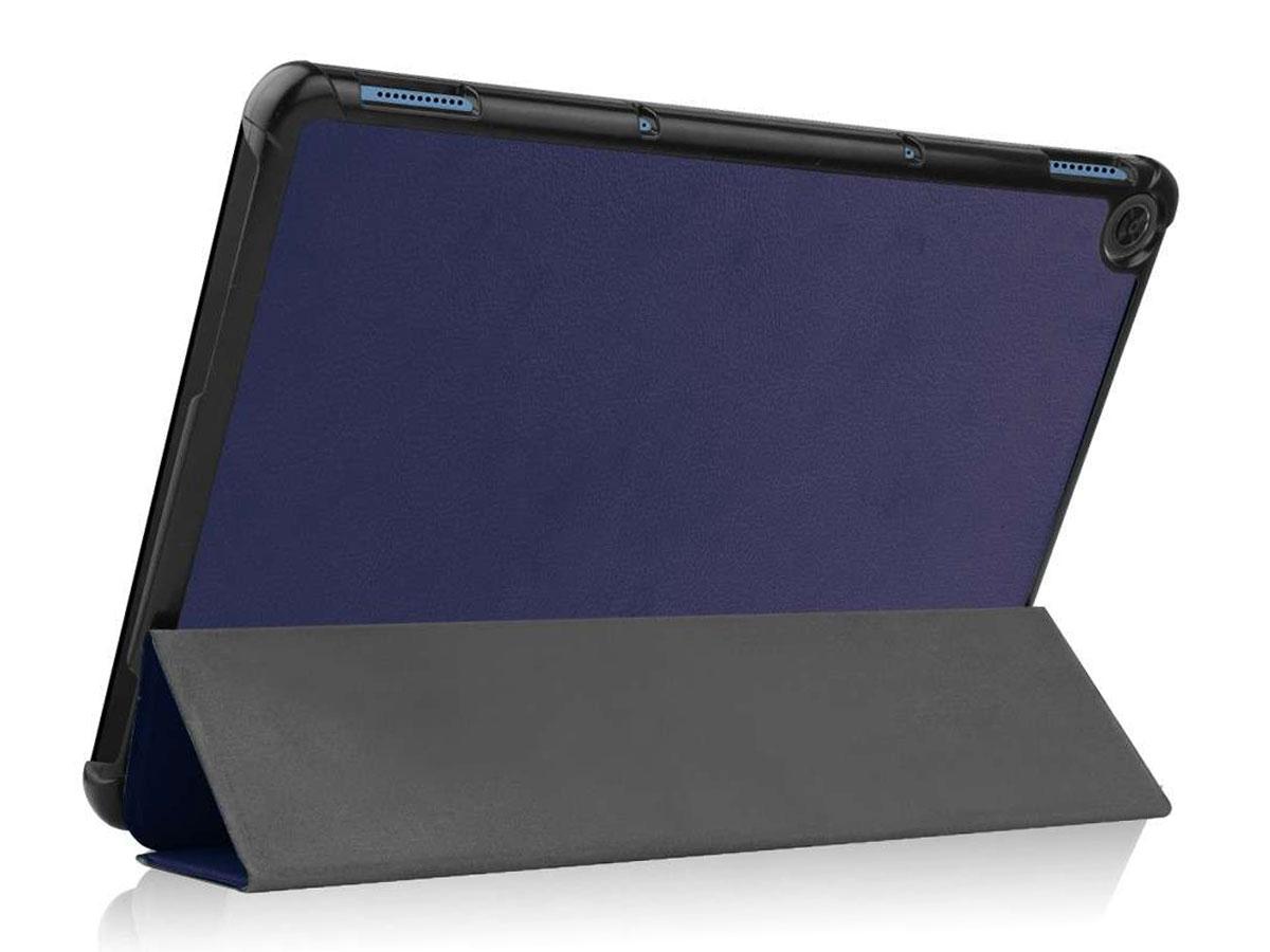 Smart Tri-Fold Bookcase Navy - Lenovo Ideapad Duet Hoesje