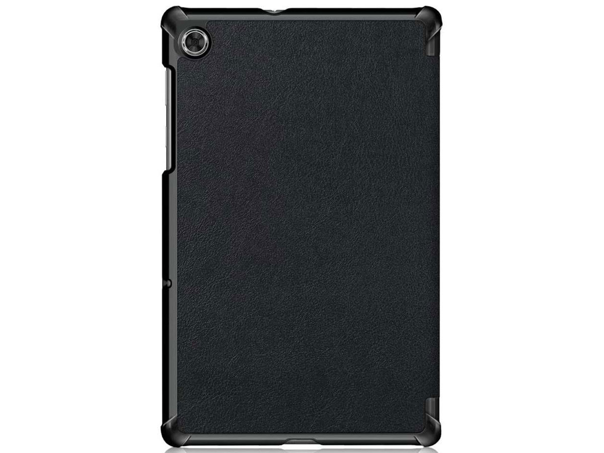 Smart Tri-Fold Bookcase Zwart - Lenovo Tab M10 Plus Hoesje