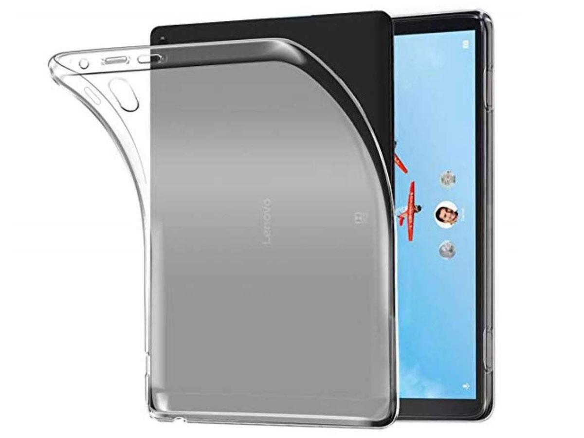 Crystal TPU Skin Case - Lenovo Tab P10 Hoesje Transparant