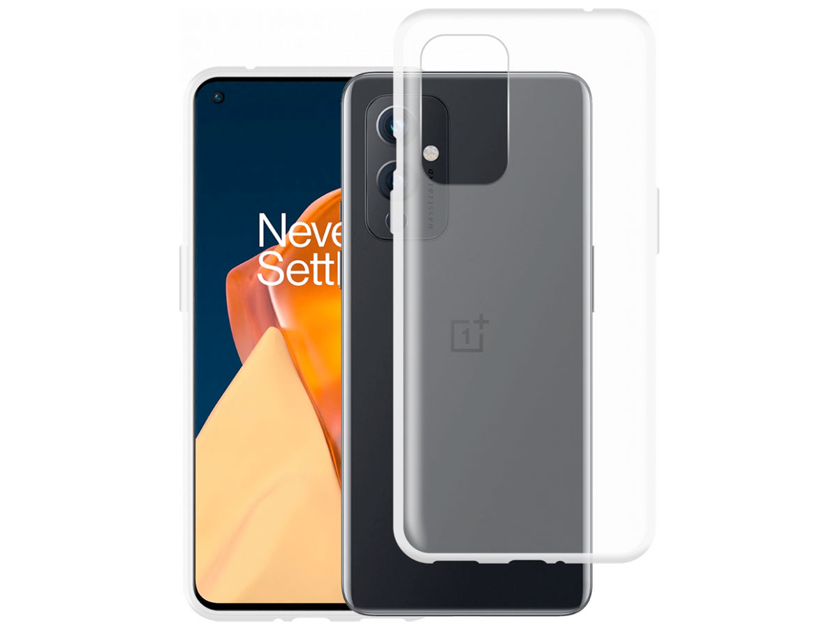 Mobilize Clear TPU Case - OnePlus 9 hoesje Transparant