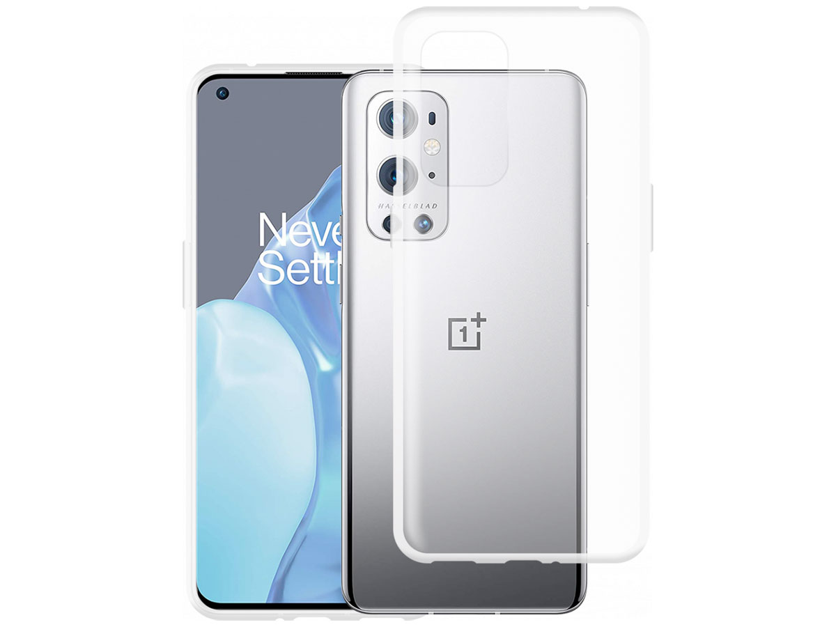 Mobilize Clear TPU Case - OnePlus 9 Pro hoesje Transparant