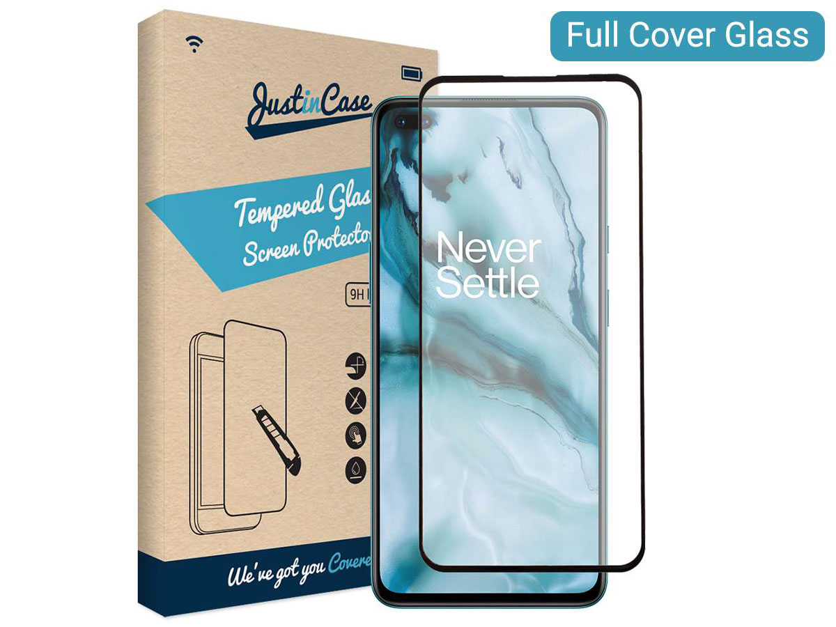 OnePlus Nord Screen Protector Tempered Glass Full Cover Edge to Edge