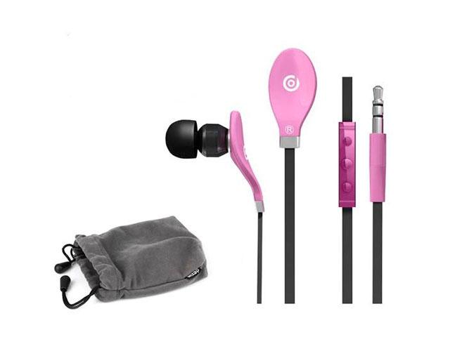 Dexim iGroove In-Ear Oordopjes met Apple remote - Roze