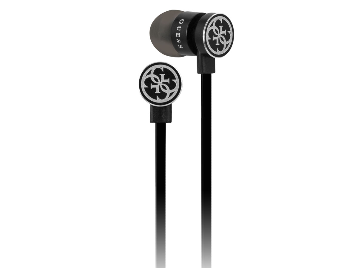 Guess Wireless In-Ear Bluetooth Oordopjes - Zwart