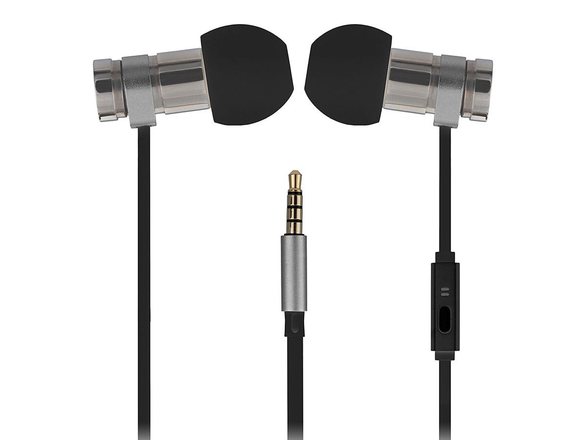 Kitsound Nova Earphones Zwart - In-Ear Oordopjes