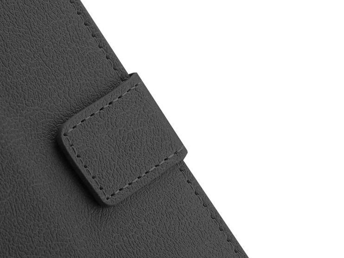 Essential Book Case Zwart - Oppo Find X2 Pro hoesje