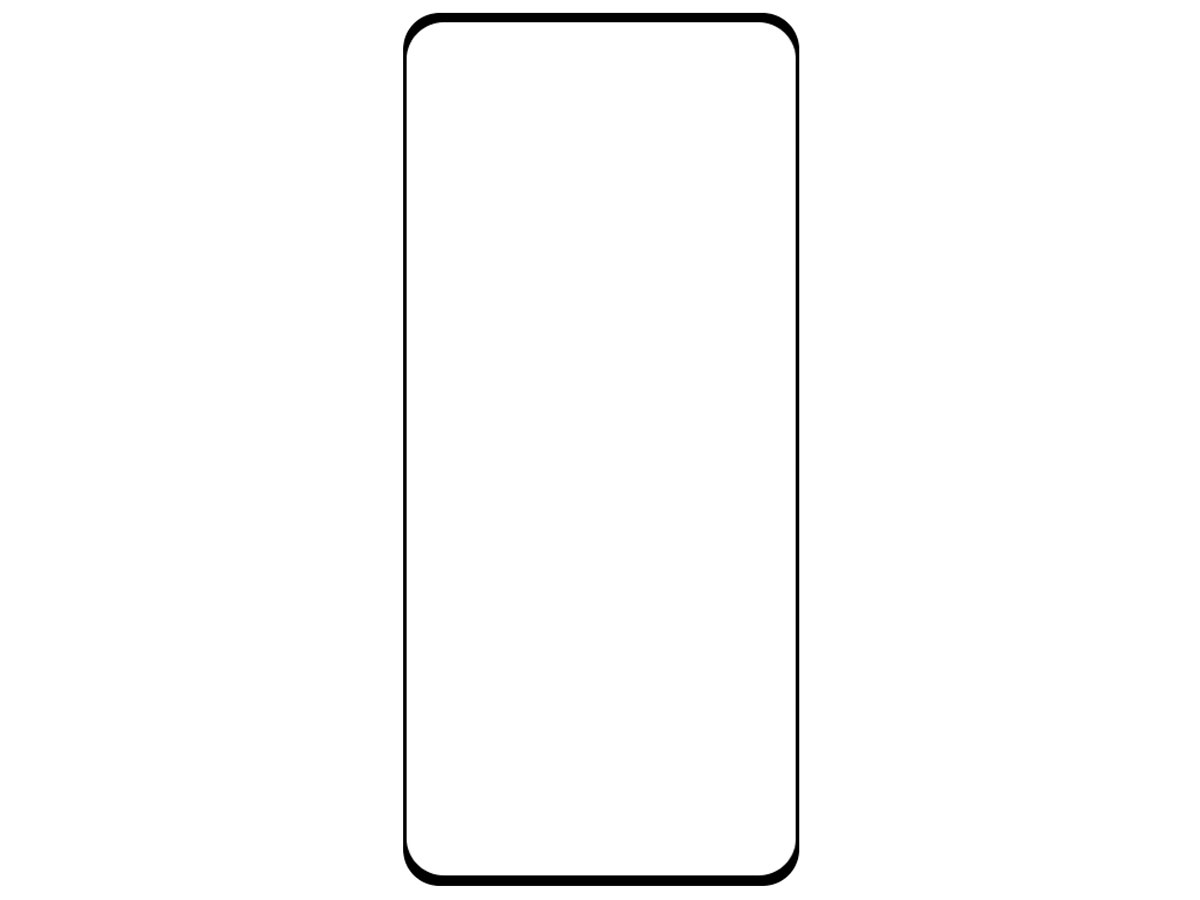 Just in Case Oppo Find X3 Neo Screen Protector Curved Glass Full Cover