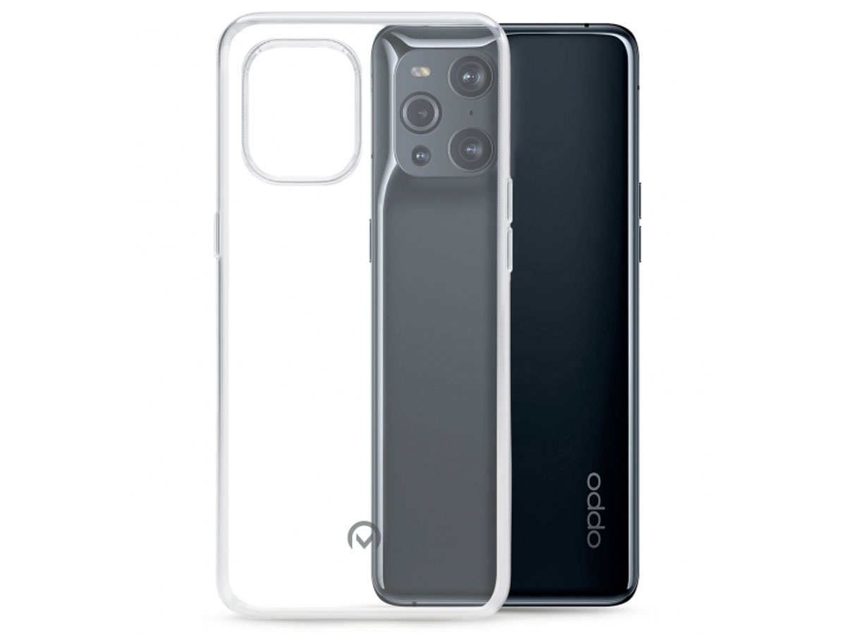 Mobilize Clear TPU Case - Oppo Find X3 Pro hoesje