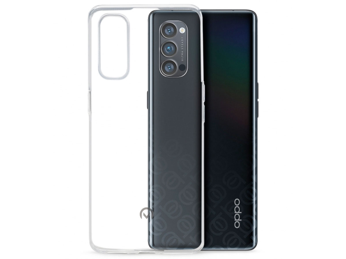 Mobilize Clear TPU Case - Oppo Reno 4 Pro 5G hoesje Transparant