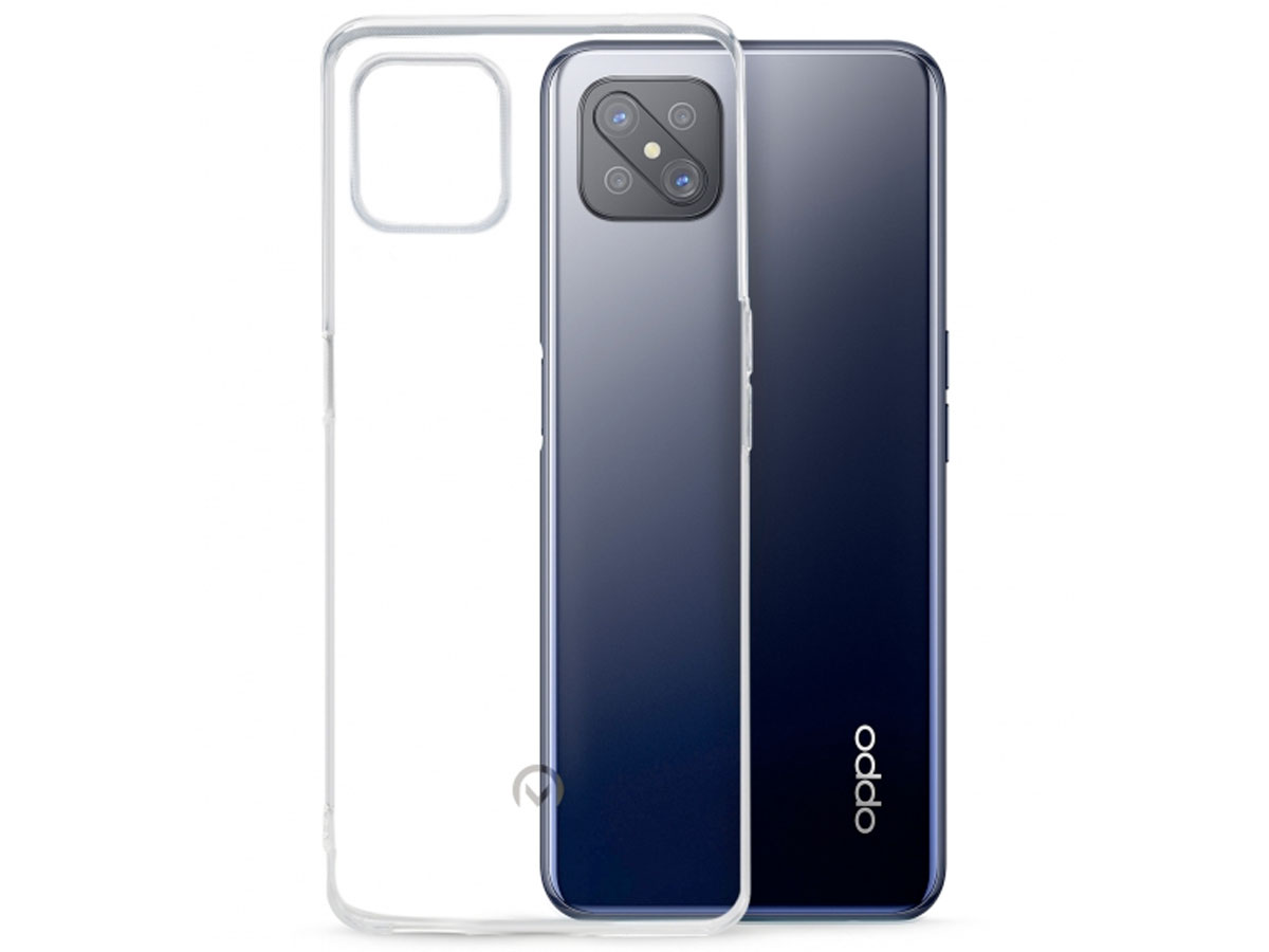 Mobilize Clear TPU Case - Oppo Reno 4 Z 5G hoesje Transparant