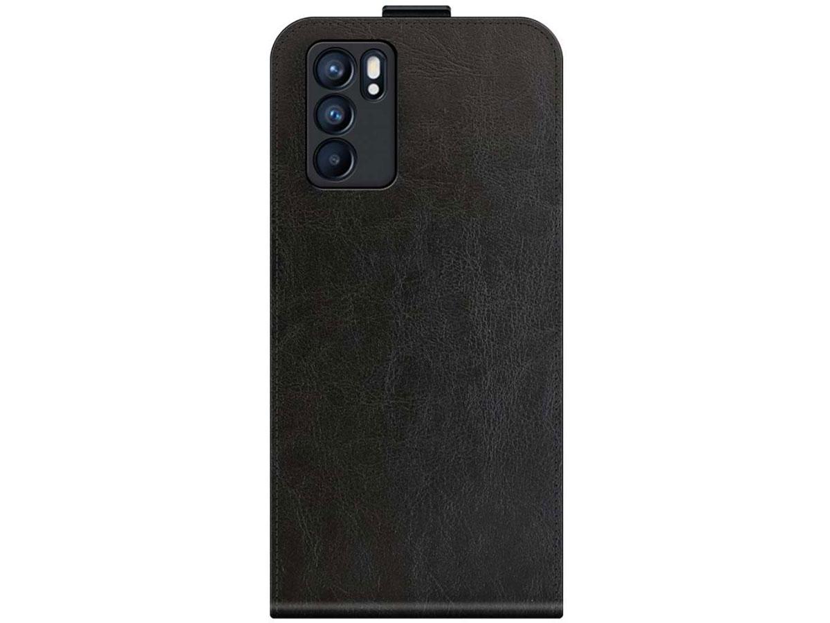 Just in Case Flip Case Zwart - Oppo Reno6 5G hoesje