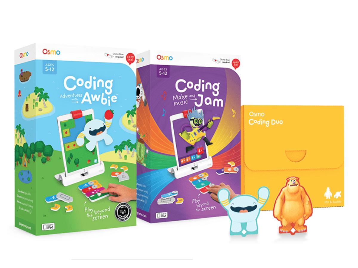 Osmo Coding Family 3-pack - Educatief STEAM Spel voor iPad Wit