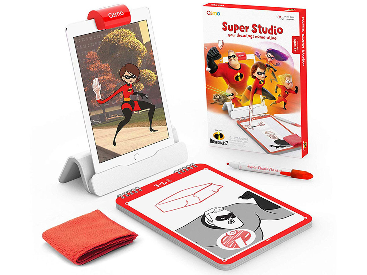 Osmo Disney Super Studio Incredibles - Educatief iPad Spel (Uitbreidingspakket) Wit