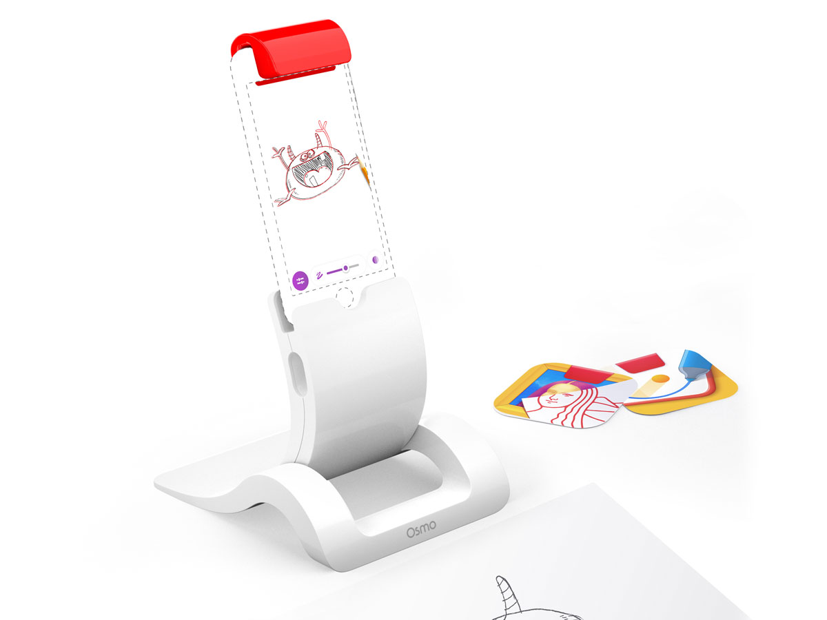 Osmo iPhone Base - Losse Standaard, Spiegel en 2 apps
