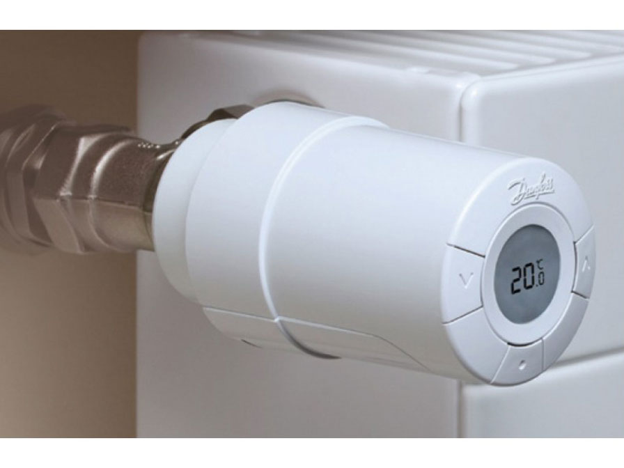 Danfoss Living Connect Z - Z-Wave Radiator Thermostaat