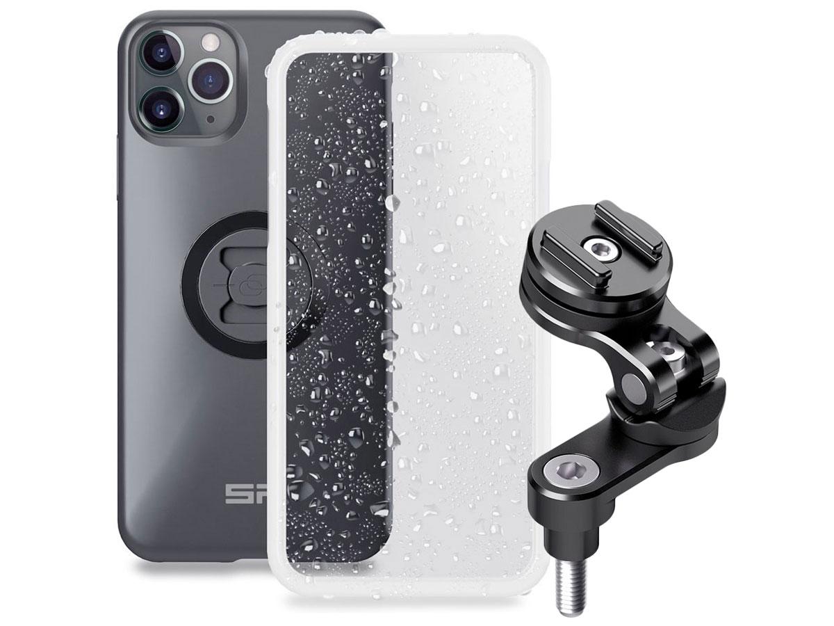SP-Connect Bar Clamp Bundle - iPhone 11 Pro Max/Xs Max Motorhouder Zwart