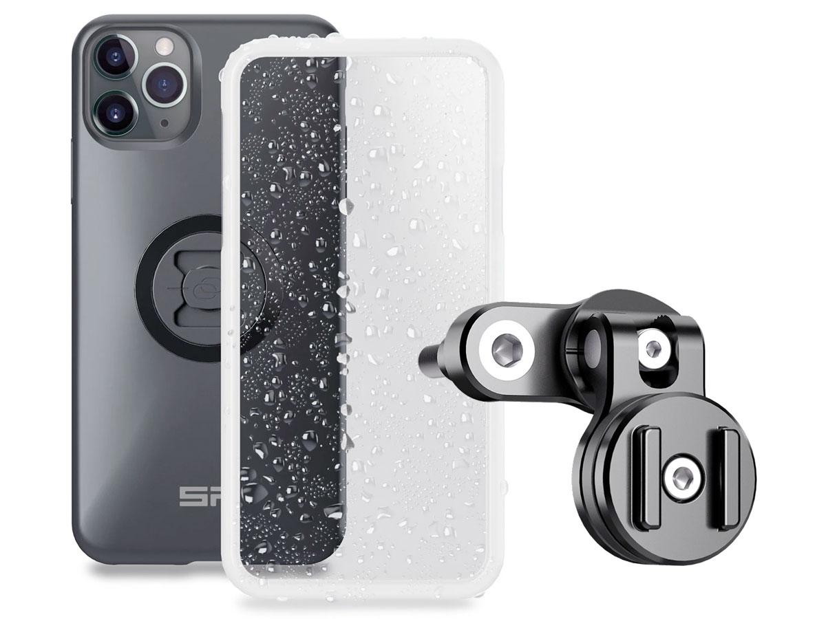 SP-Connect Clutch Bundle - iPhone 11 Pro Max/Xs Max Motorhouder Zwart