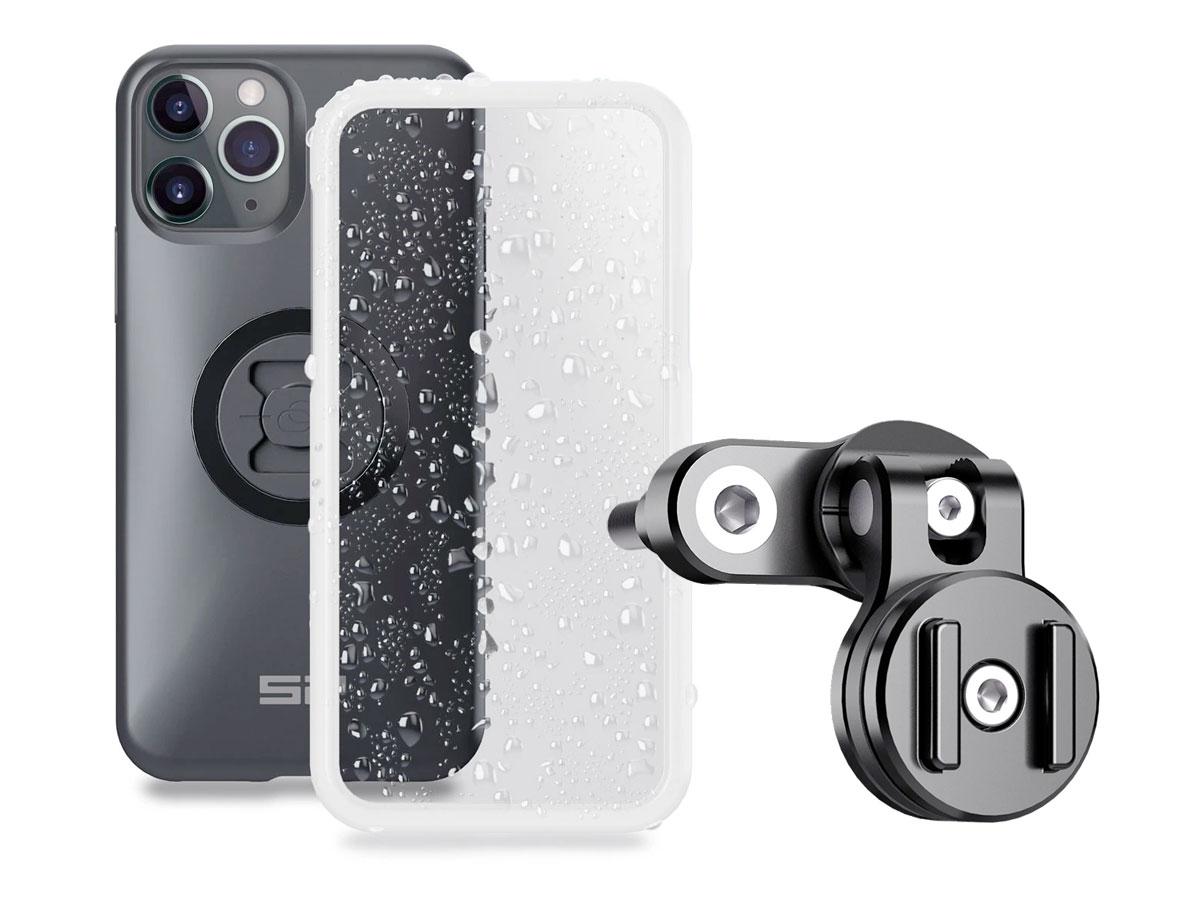 SP-Connect Clutch Bundle - iPhone 11 Pro / X / Xs Motorhouder Zwart