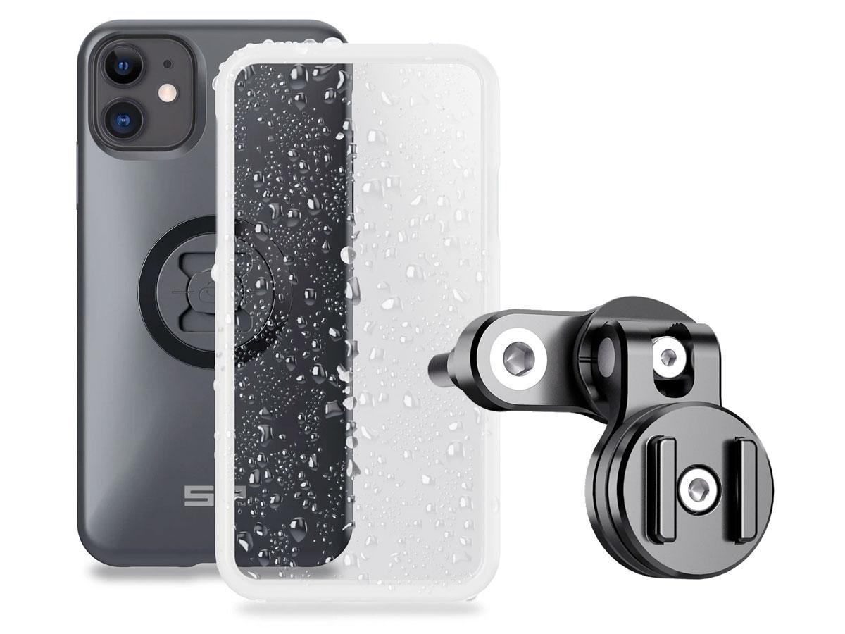 SP-Connect Clutch Bundle - iPhone 11 / XR Motorhouder Zwart