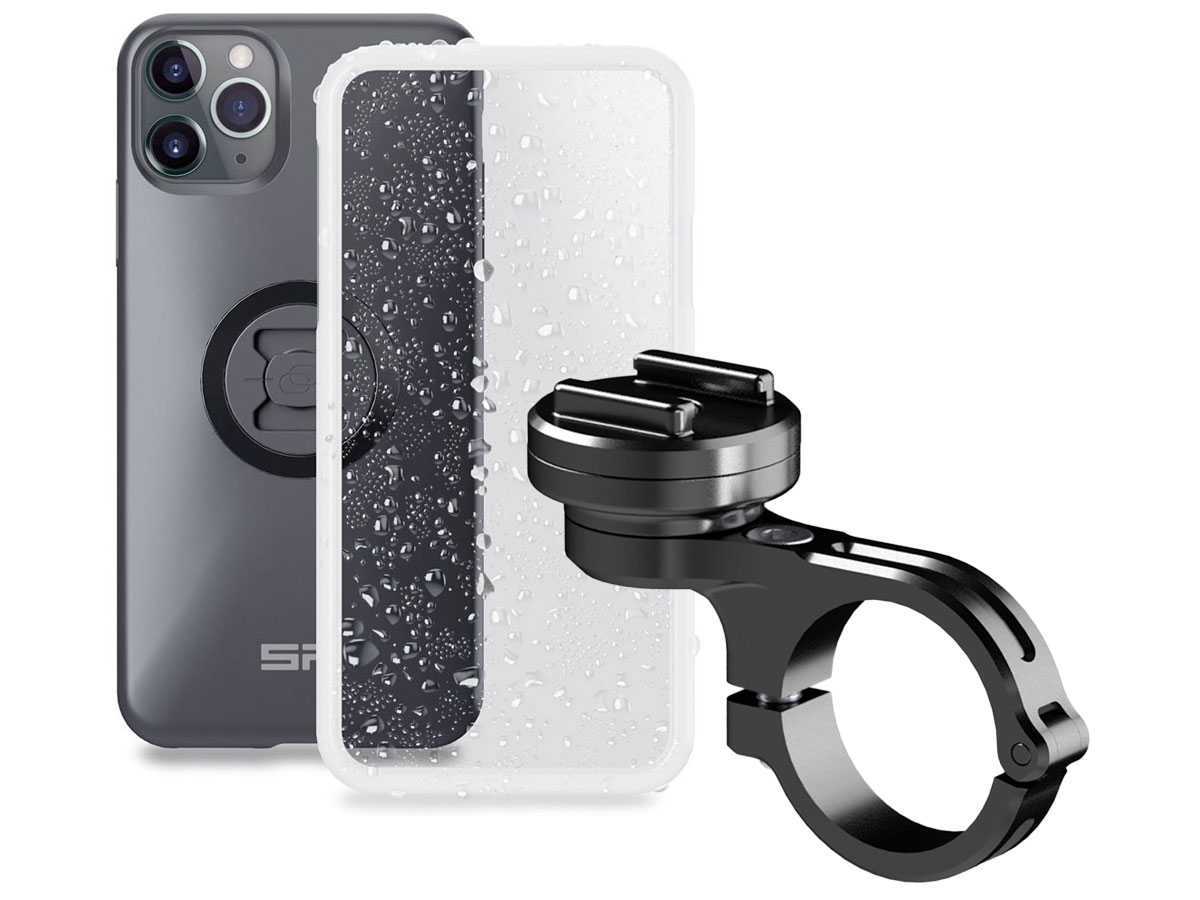 SP-Connect Bike Mount Pro XL Bundel - iPhone 11 Pro Max/Xs Max Fietshouder Zwart