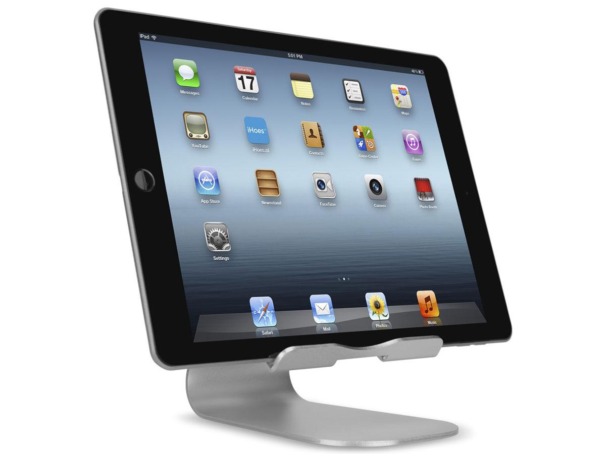 Aluminium ipad standaard design tablet houder metaal for Keuken ontwerpen op ipad