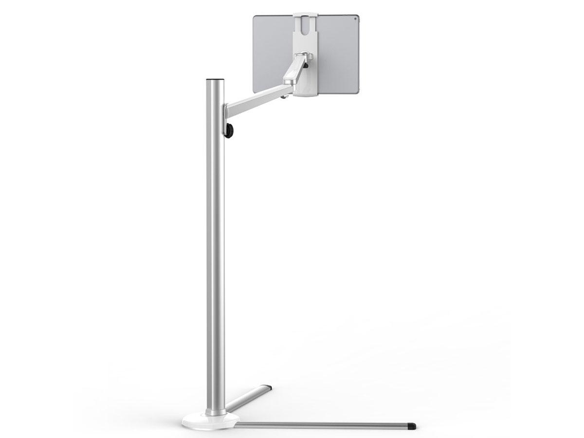 Aluminium Tablet Floor Stand Zilver - Tablet Vloerstandaard