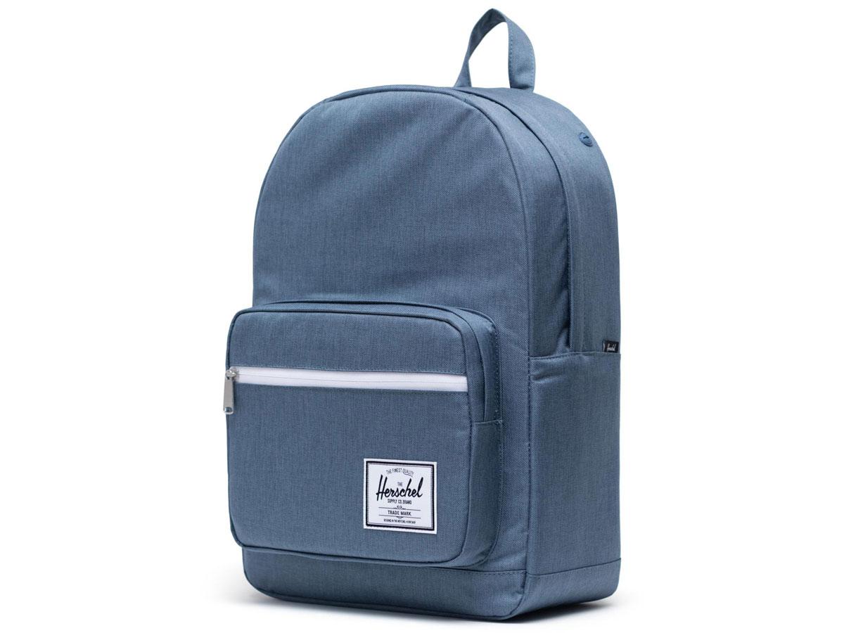 Herschel Supply Co. Pop Quiz Rugzak - Blue Mirage Crosshatch Lichtblauw
