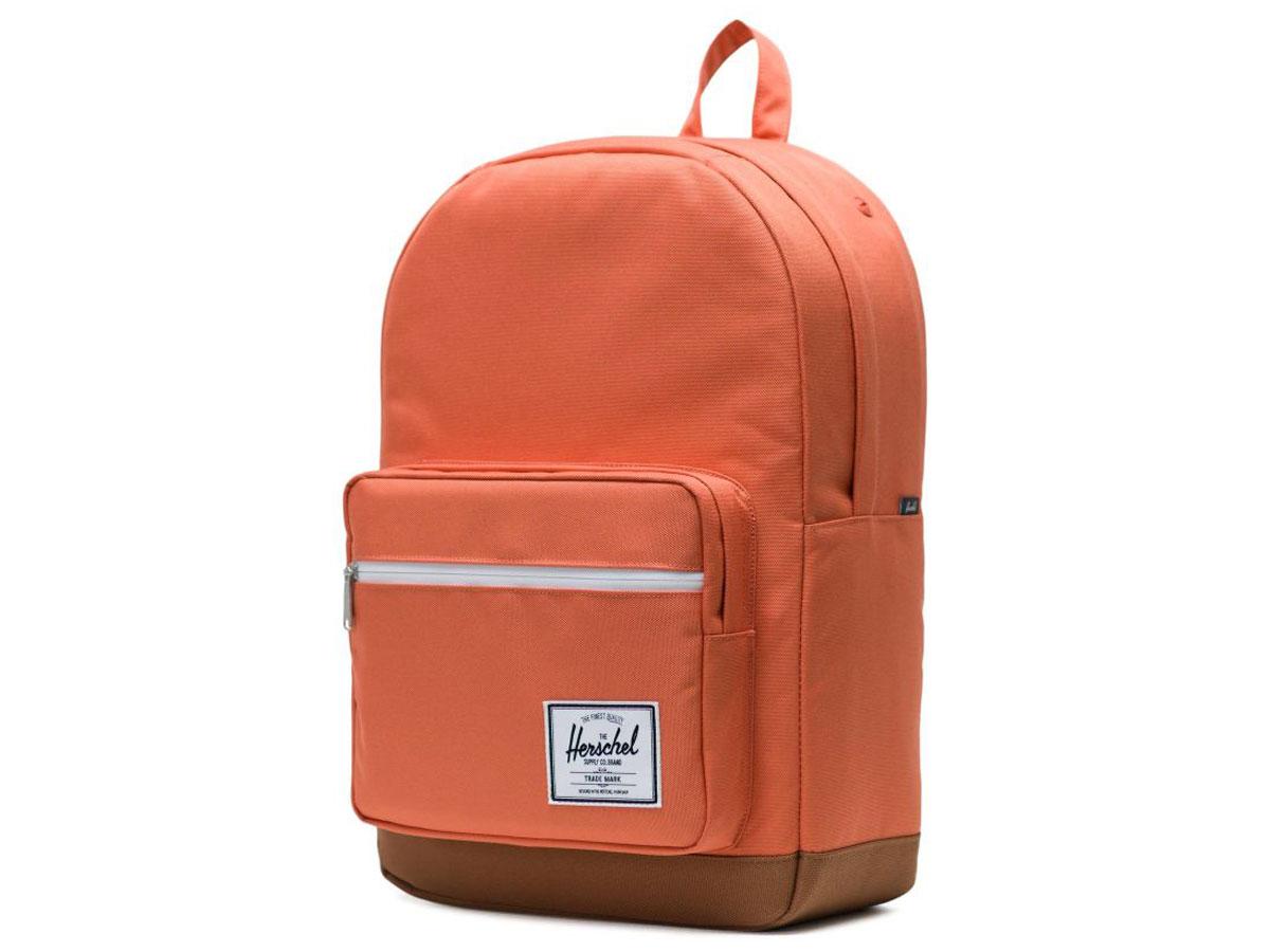 Herschel Supply Co. Pop Quiz Rugzak - Apricot Brandy/Saddle Brown Roze