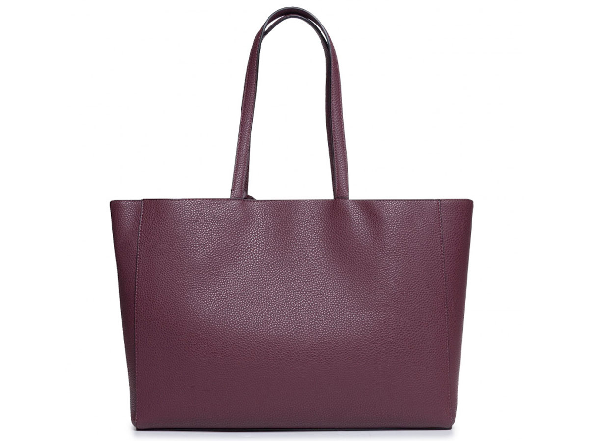 Calvin Klein Shopper Tas met Uitneembare Laptopsleeve (Bordeaux)