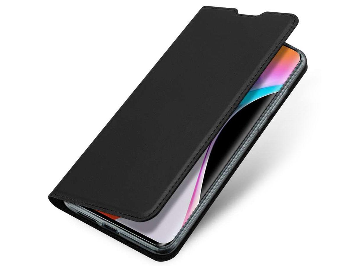 Dux Ducis Slim BookCase Zwart - Xiaomi Mi 10 (Pro) hoesje