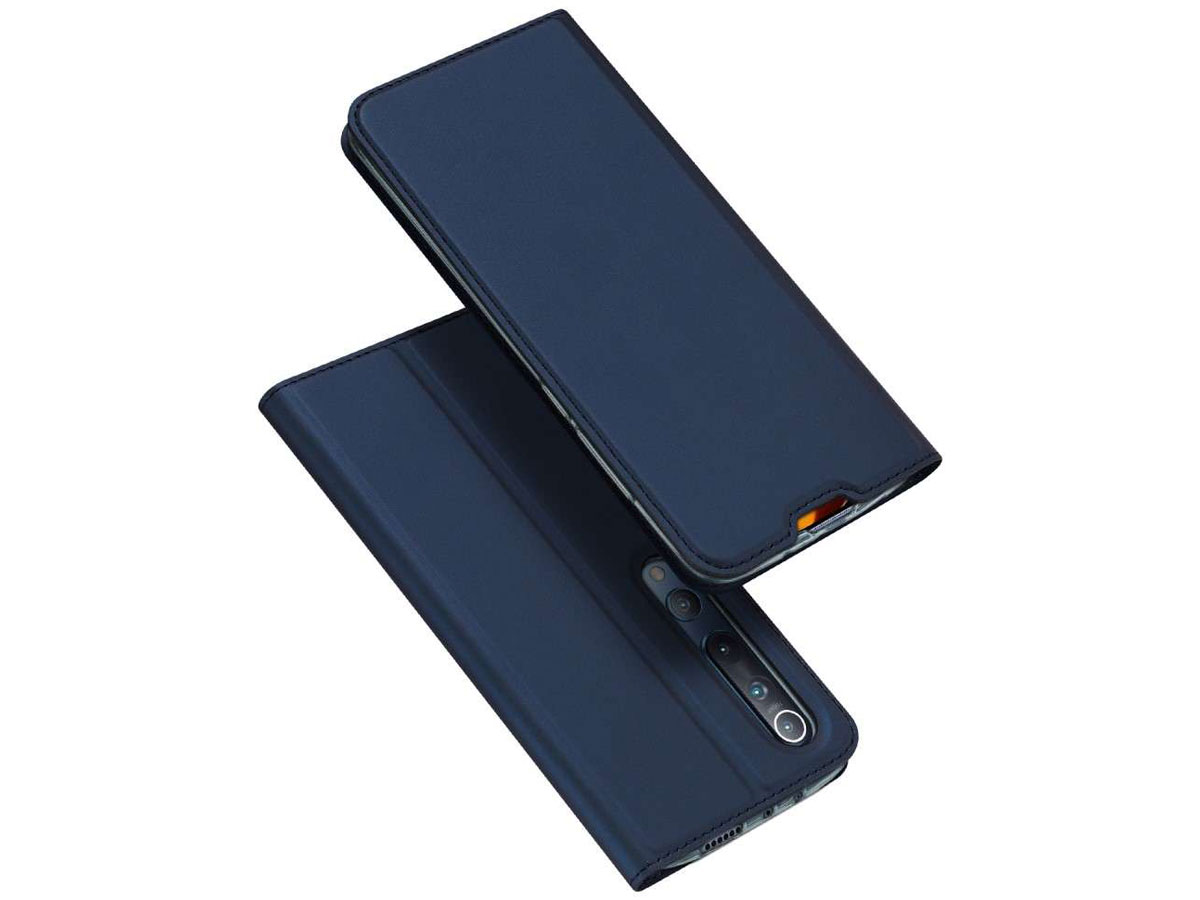 Dux Ducis Slim BookCase Donkerblauw - Xiaomi Mi 10 (Pro) hoesje