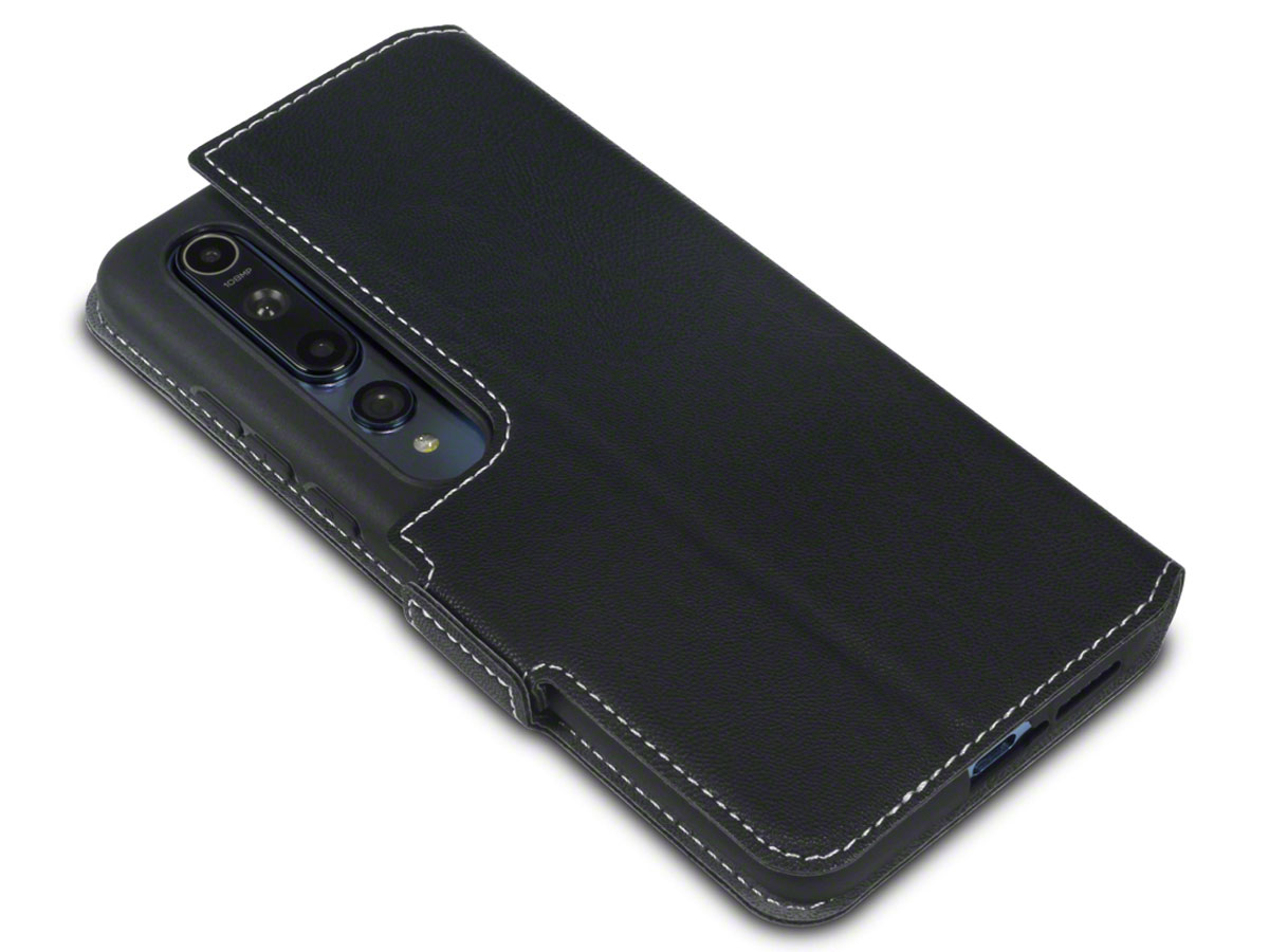 CaseBoutique Slim Bookcase Zwart - Xiaomi Mi 10 hoesje
