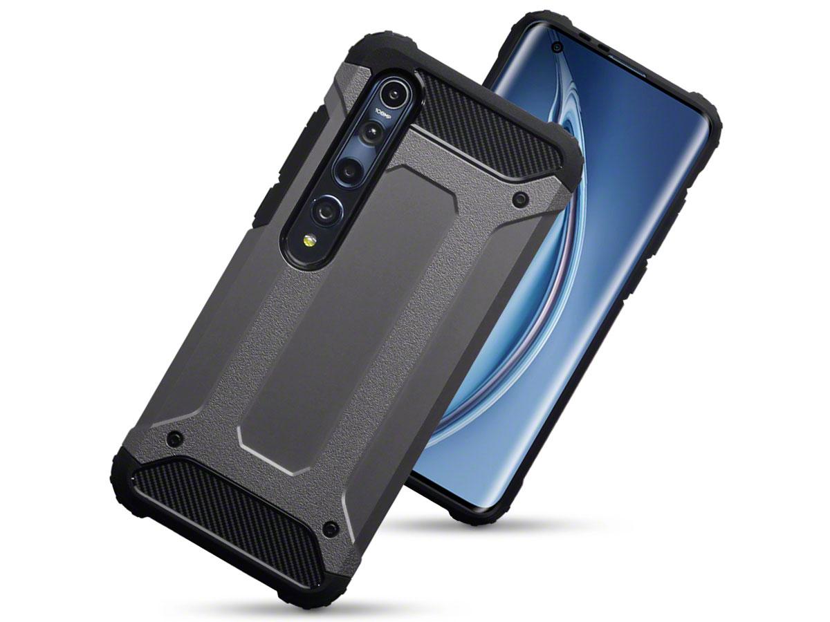 CaseBoutique Xtreme Rugged Case Grijs - Xiaomi Mi 10 Hoesje