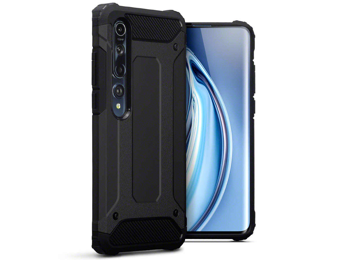 CaseBoutique Xtreme Rugged Case Zwart - Xiaomi Mi 10 Hoesje