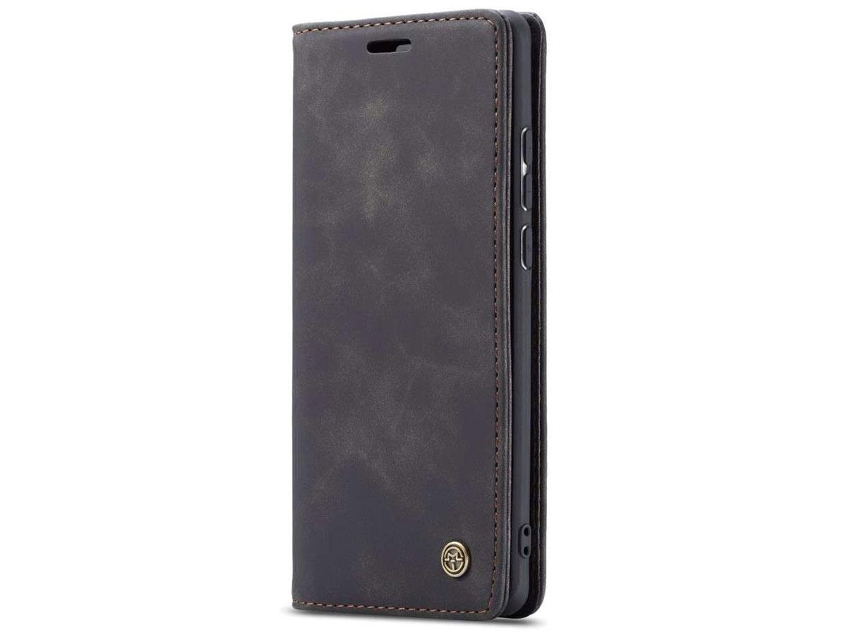 CaseMe Vintage BookCase Zwart - Xiaomi Poco F2 Pro hoesje