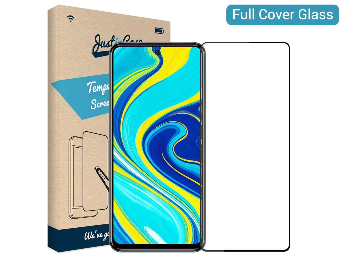 Xiaomi Redmi Note 9 Pro Screen Protector Curved Glass Full Cover