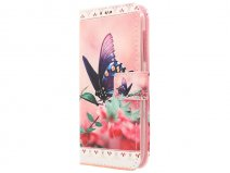 Acer Liquid Z330 Hoesje - Butterfly Book Case