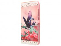 Acer Liquid Z630 Hoesje - Butterfly Book Case
