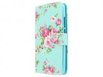 Flower Bookcase - Acer Liquid Zest hoesje